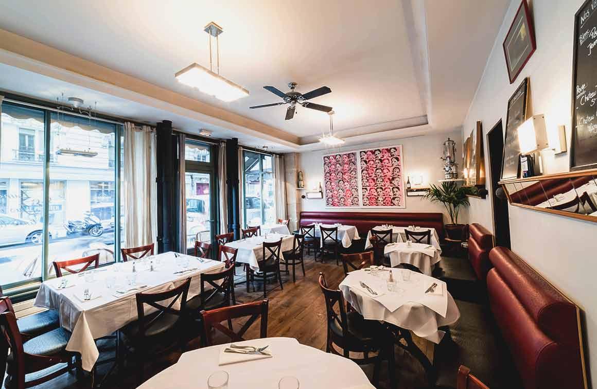 Restaurant Le Percolateur la salle