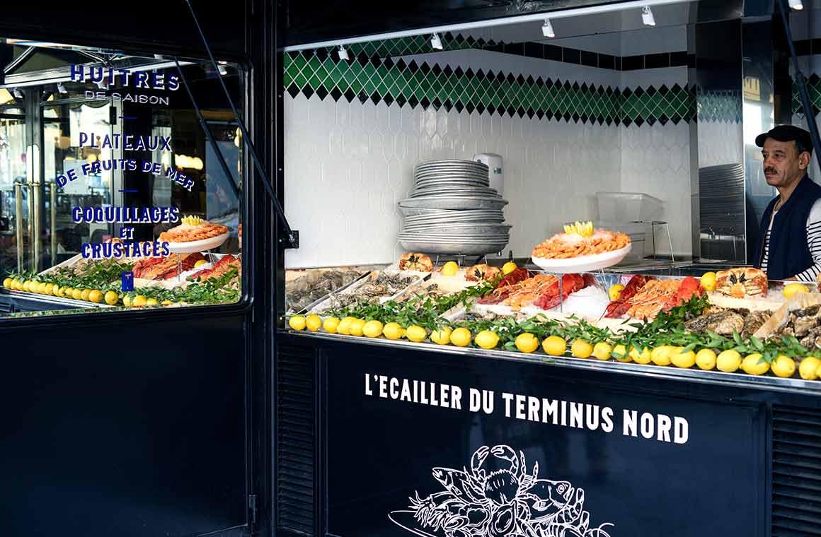 restaurant Terminus Nord le ban d'huîtres