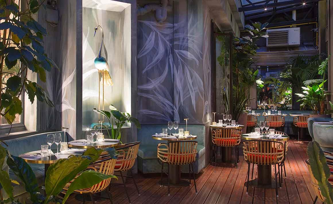 Restaurant Klay, décoration de la salle