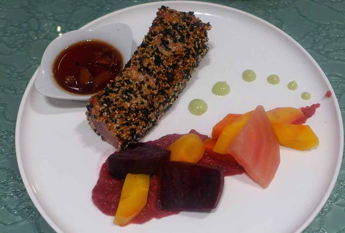 Restaurant Klay, mi-cuit de thon