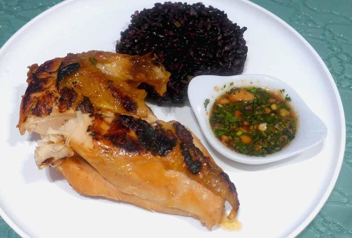 Restaurant Klay, filet de poulet jaune