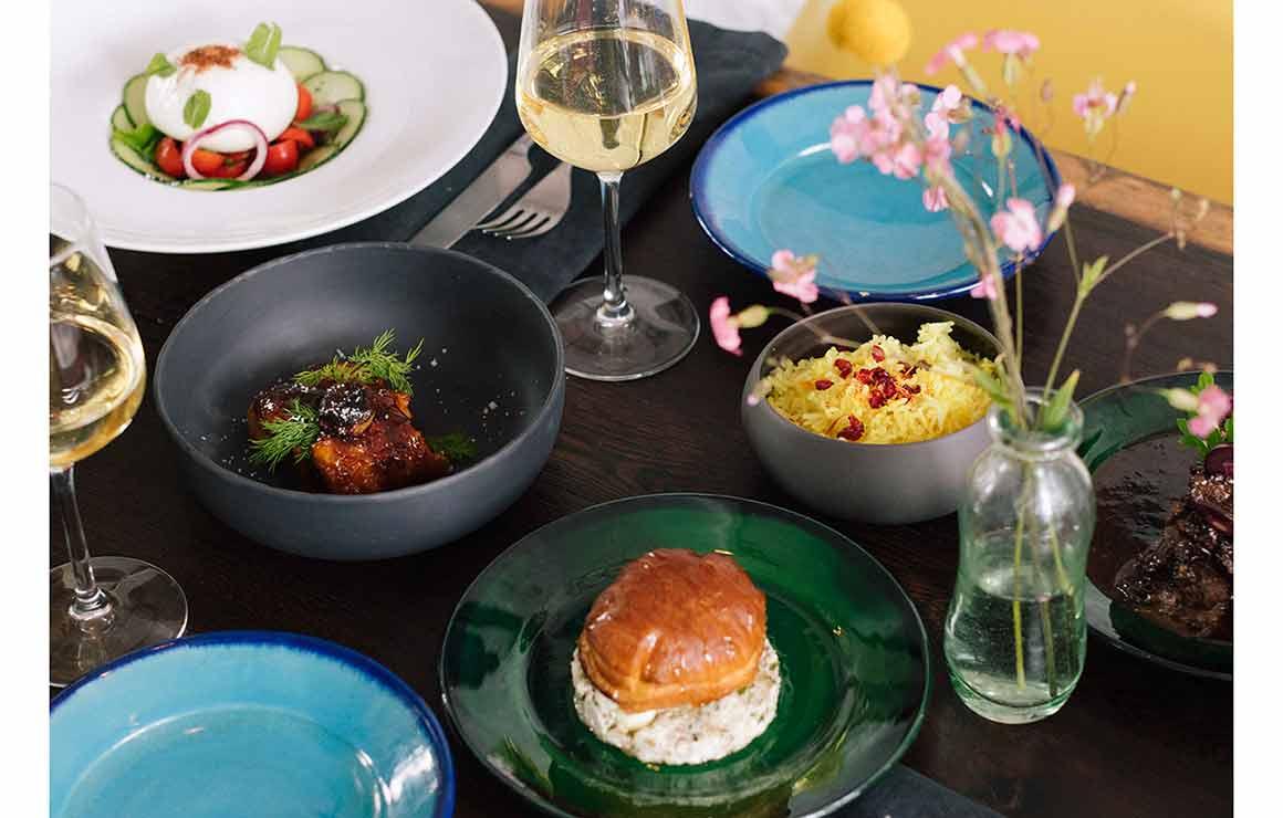 Restaurant Libra, entrées façon tapas franco-iraniennes