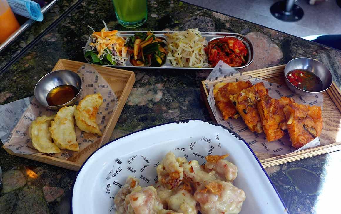 Restaurant On The Bab, assortiments d'entrées