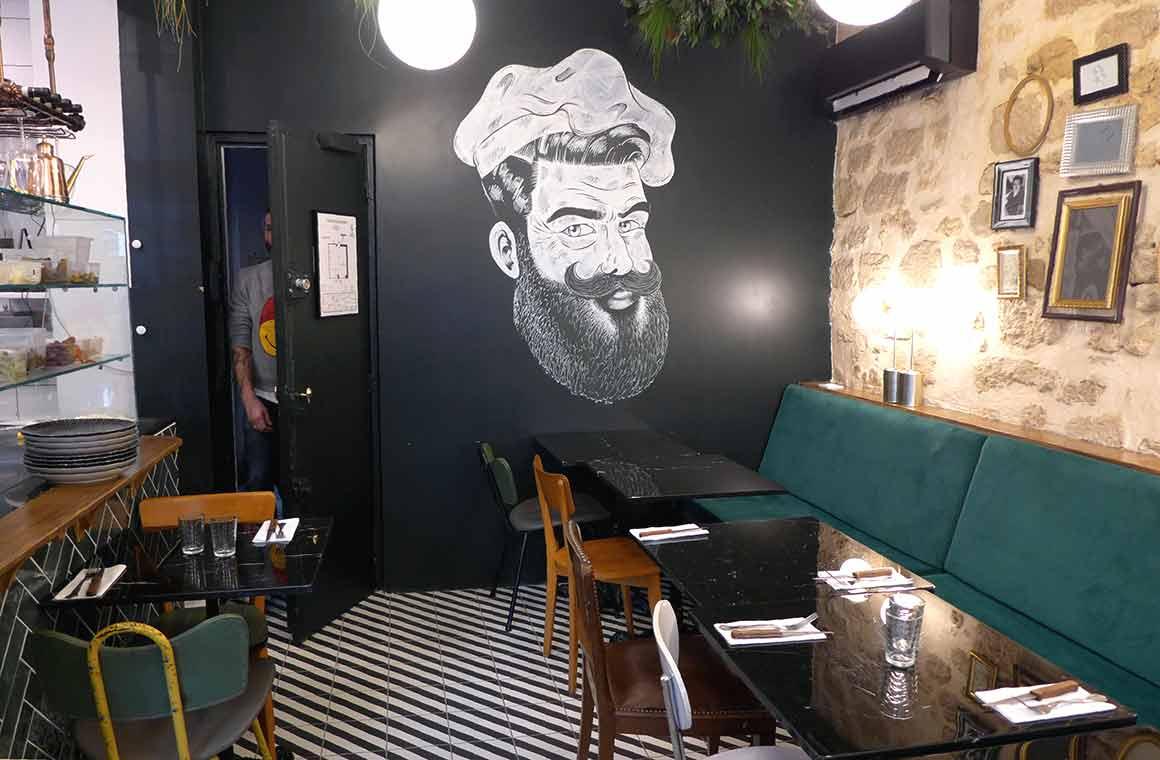 Restaurant Pépé Ronchon la salle