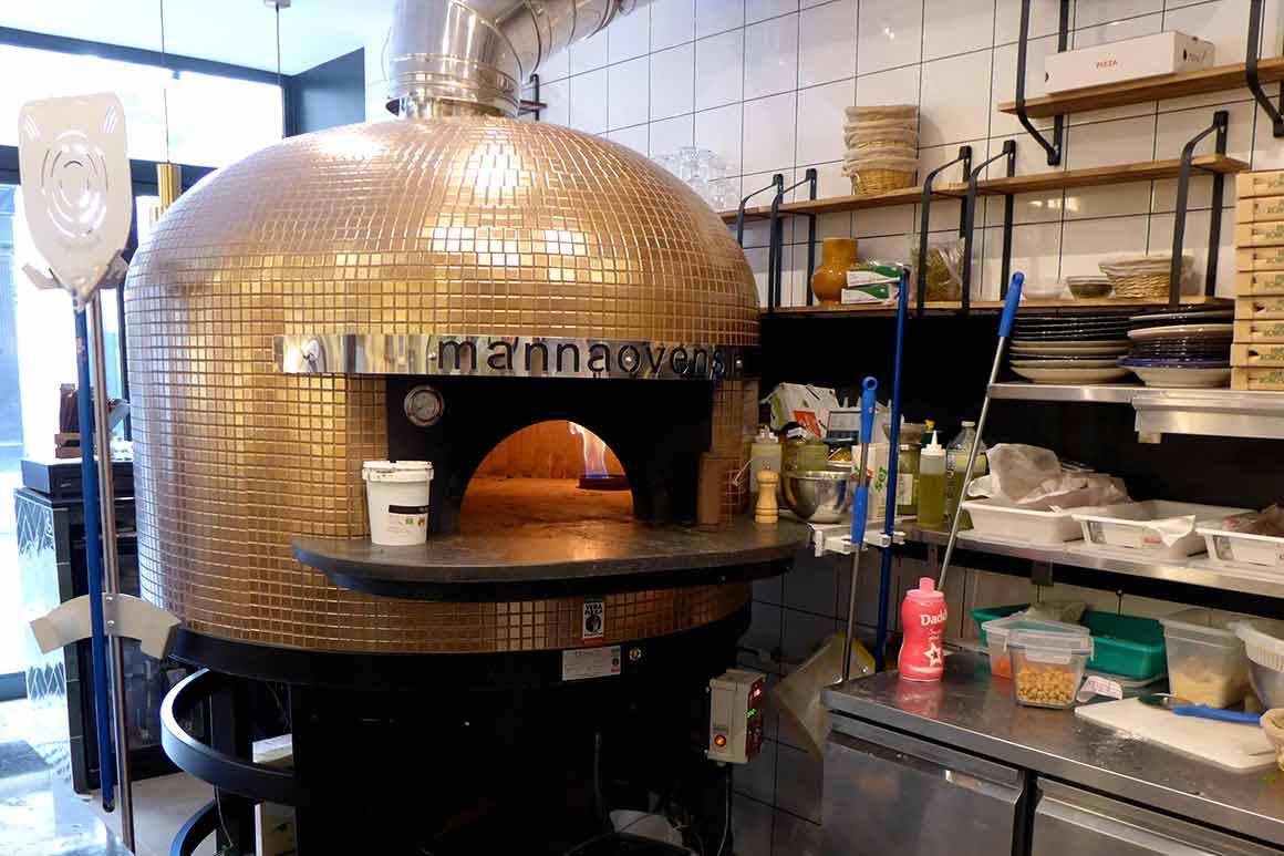 Restaurant Pépé Ronchon le four à pizza