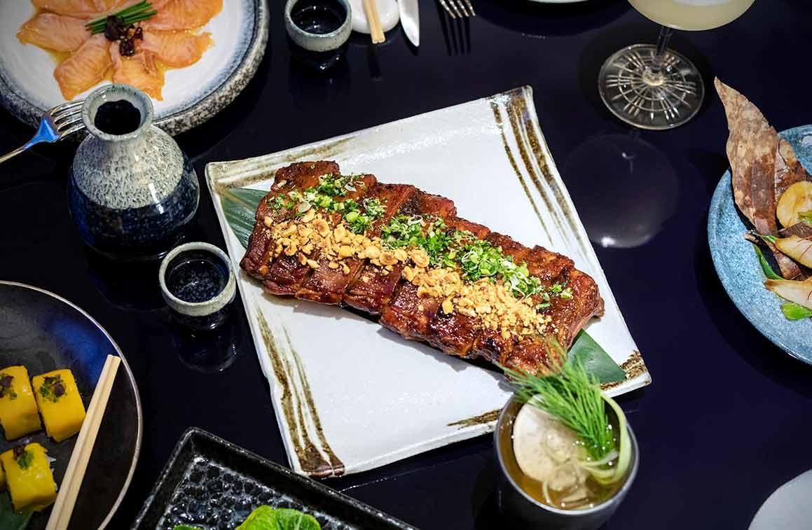 Restaurant Ran, La table de Ran
