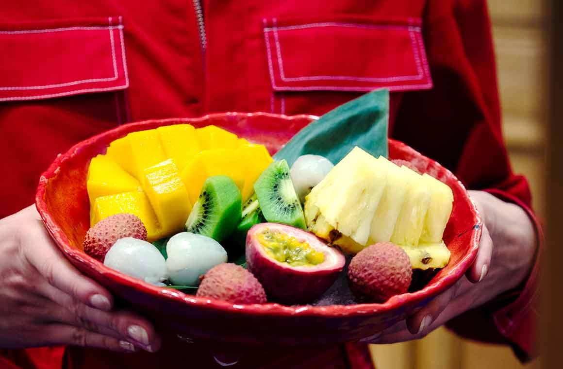 Restaurant Ran, Fruits exotiques