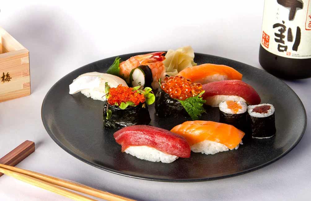 Restaurant Ao Izakaya, sushis