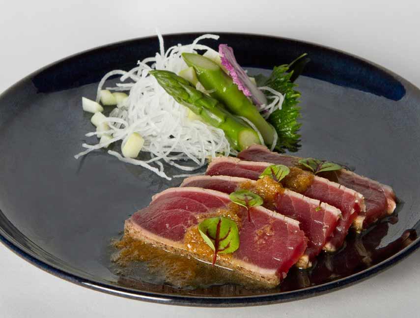 Restaurant Ao Izakaya, escalope de foie gras
