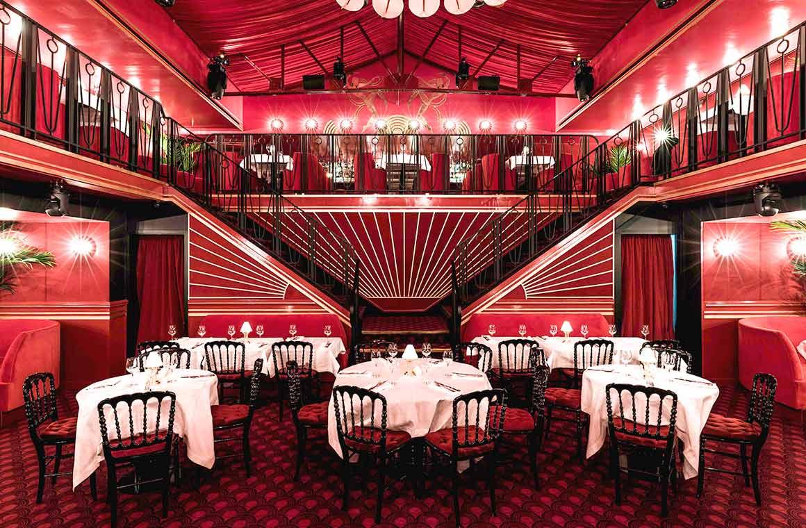 Restaurant Roxie, La salle très réussie du Roxie