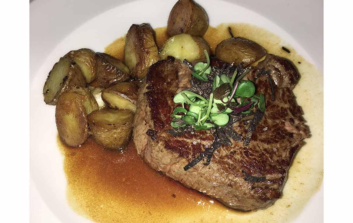 Restaurant Roxie, Boeuf sauce foie gras et truffes
