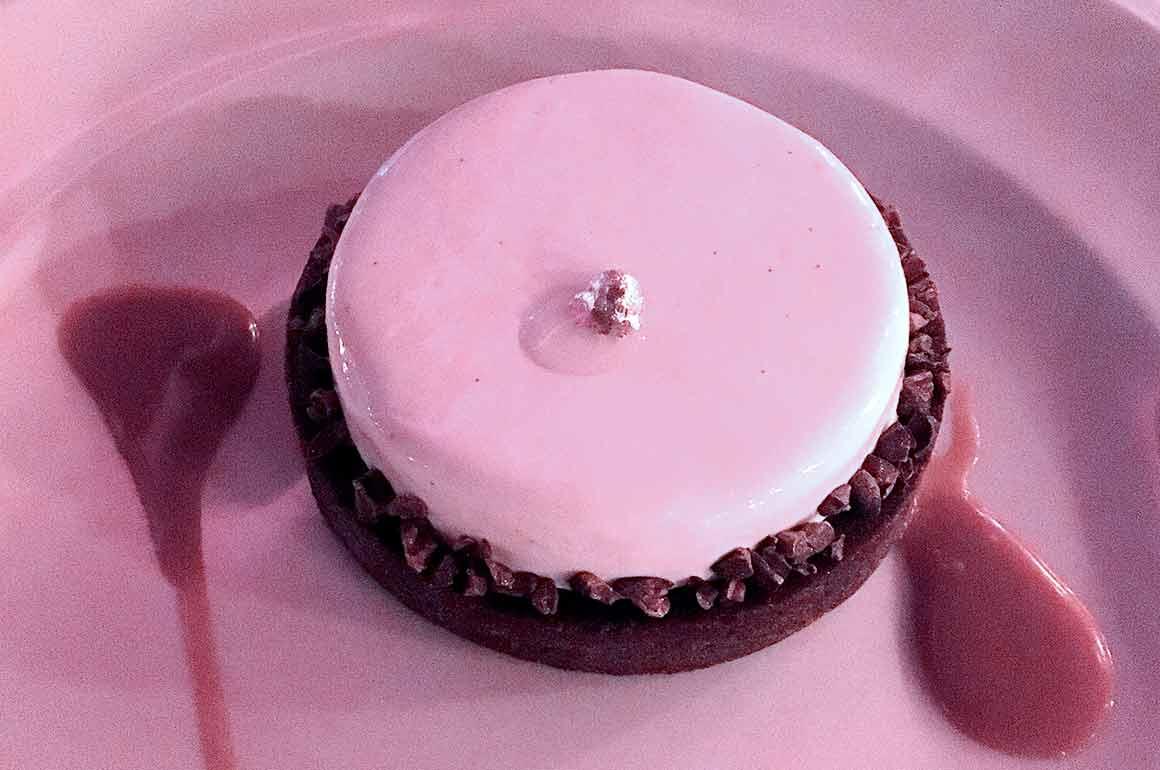 Restaurant Roxie, Tarte chocolat et vanille
