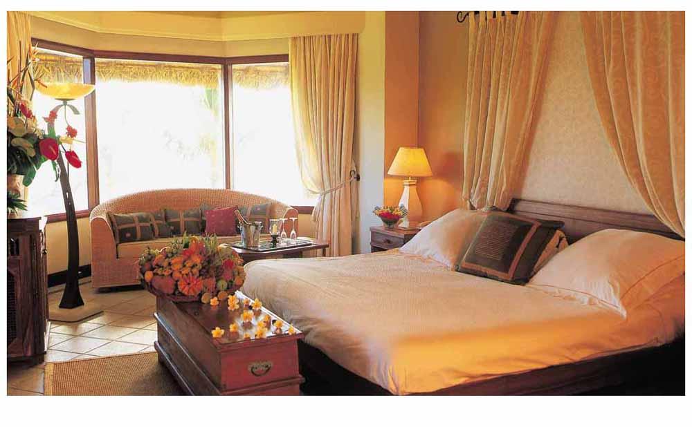 Dinarobin hôtel chambre