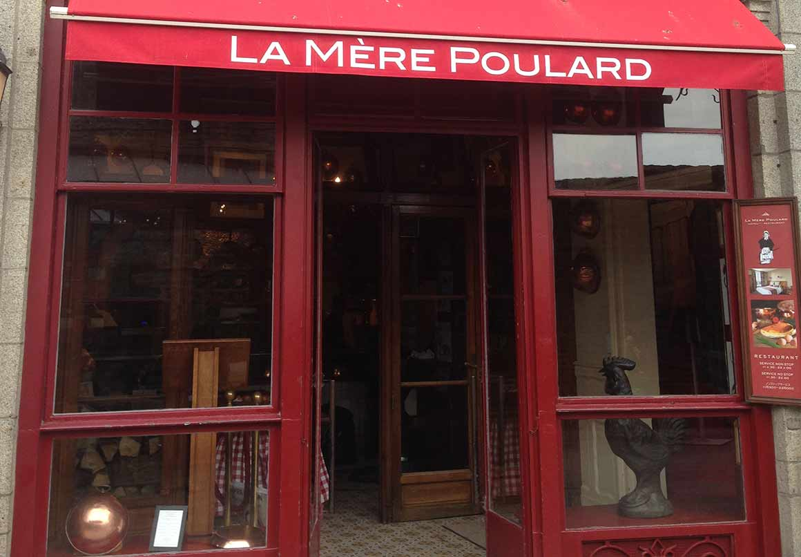Restaurant paris week end destination omelette de la m re poulard au mont saint michel - Restaurant la mere poulard ...