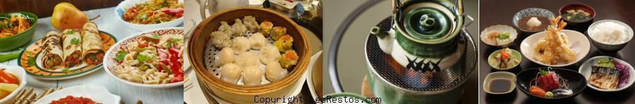 image sélection restaurant asiatique Montpellier