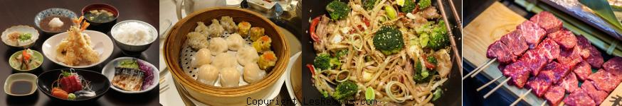 image restaurants asiatiques Bordeaux