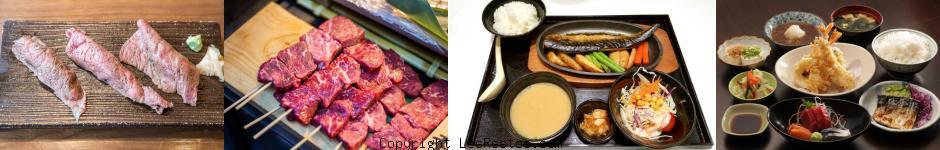 image sélection resto japonais Lyon