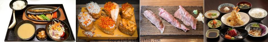 image sélection restaurant japonais Paris