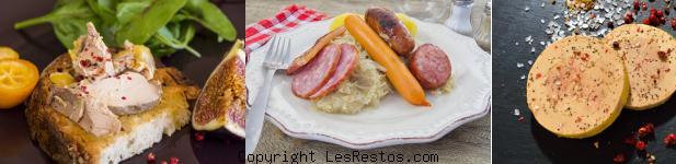 image meilleur restaurant foie gras Lyon