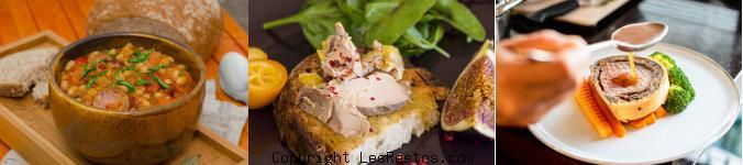 image restaurant foie gras Toulouse