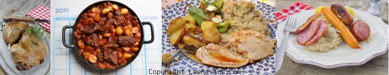 sélection restaurant terroir français Toulouse