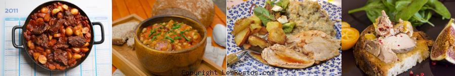 image sélection restaurant terroir français Marseille