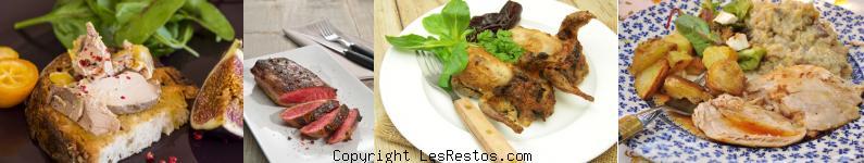 image restaurant cuisine française Bordeaux