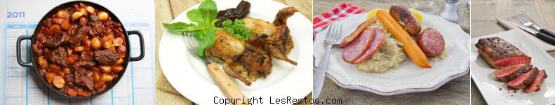 image restaurants cuisine française Marseille